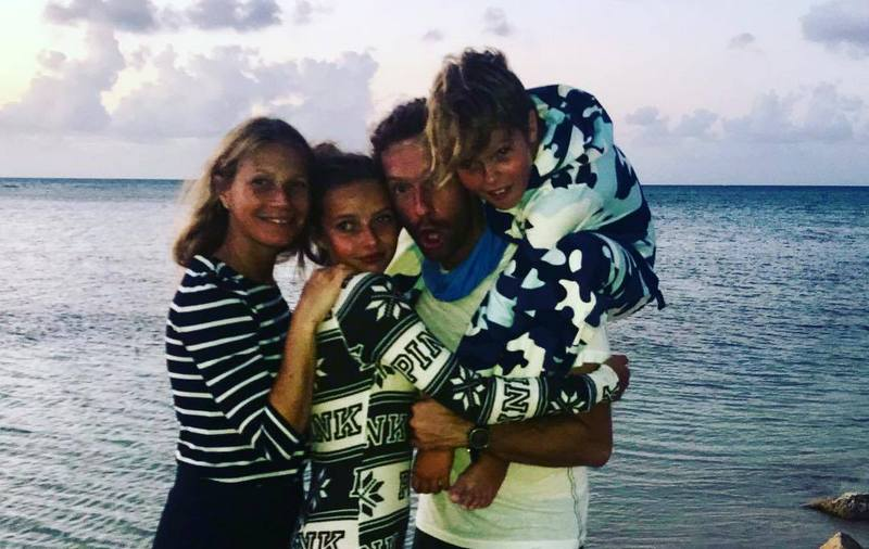 Chris Martin's family - ex-wife Gwyneth Paltrow and kids