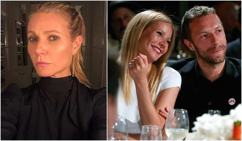 Chris Martin's family - ex-wife Gwyneth Paltrow