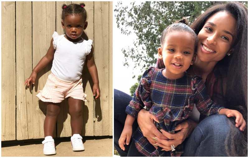 Ciara's children - daughter Sienna Princess Wilson