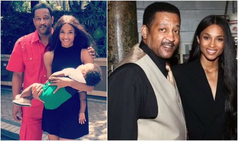 Ciara's family - father Carlton Clay Harris