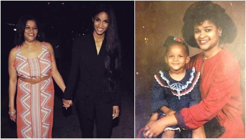 Ciara's family - mother Jackie Harris