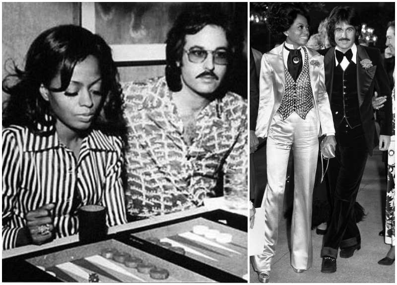 Diana Ross' family - ex-husband Robert Ellis Silberstein