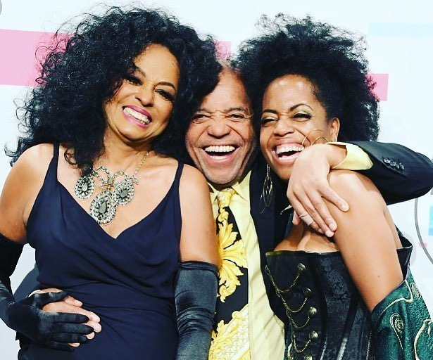 Diana Ross' family - ex-partner Berry Gordy III