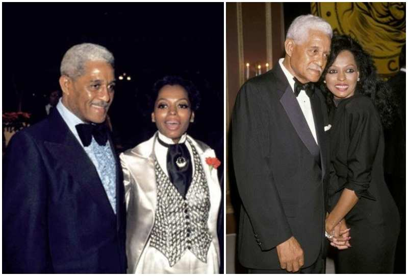 Diana Ross' family - father Fred Ross Sr.