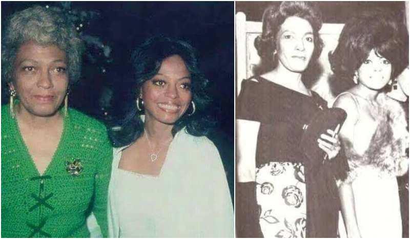 Diana Ross' family - mother Ernestine Ross