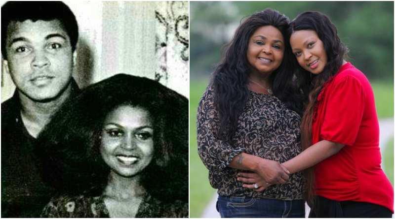 Muhammad Ali's family - baby mama Barbara Mensah