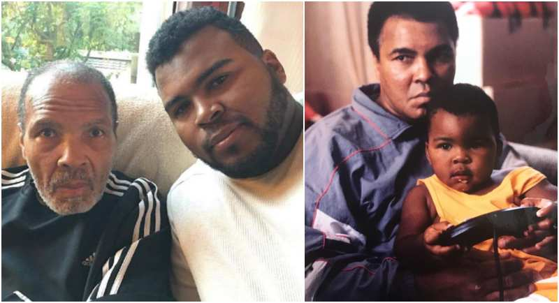 Muhammad Ali's children - adopted son Asaad Amin Ali