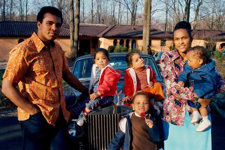 Muhammad Ali's family - ex-wife Khalilah Camacho Ali