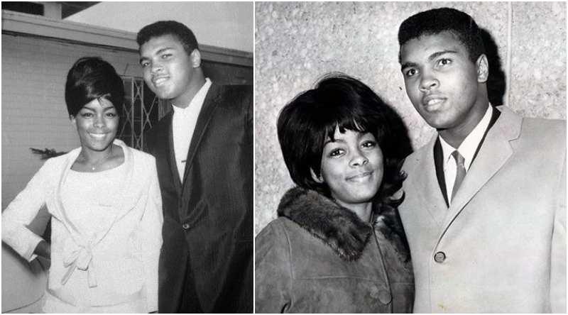Muhammad Ali's family - ex-wife Sonji Roi