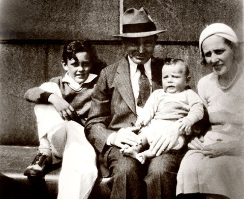 Stan Lee's family - parents Jack and Celia Lieber, brother Larry