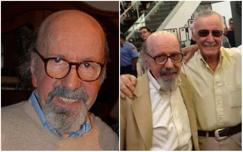 Stan Lee's siblings - brother Larry Lieber