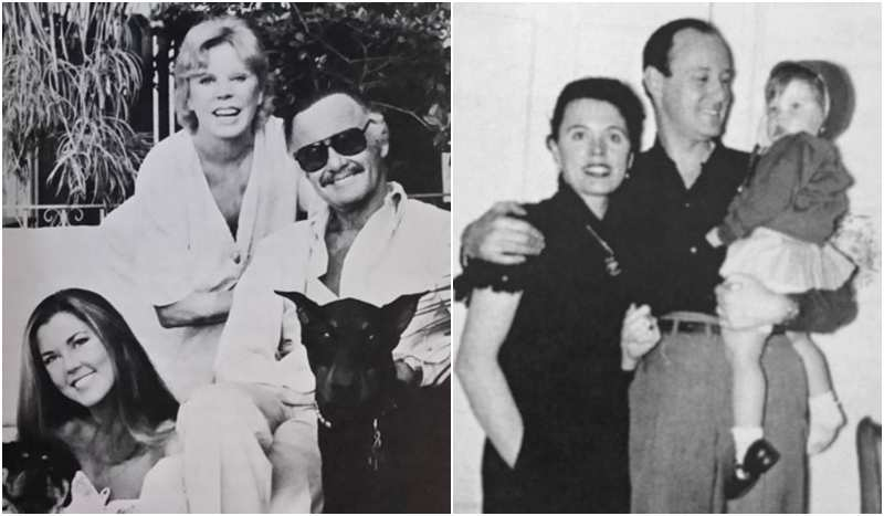 Stan Lee's family - wife and daughter