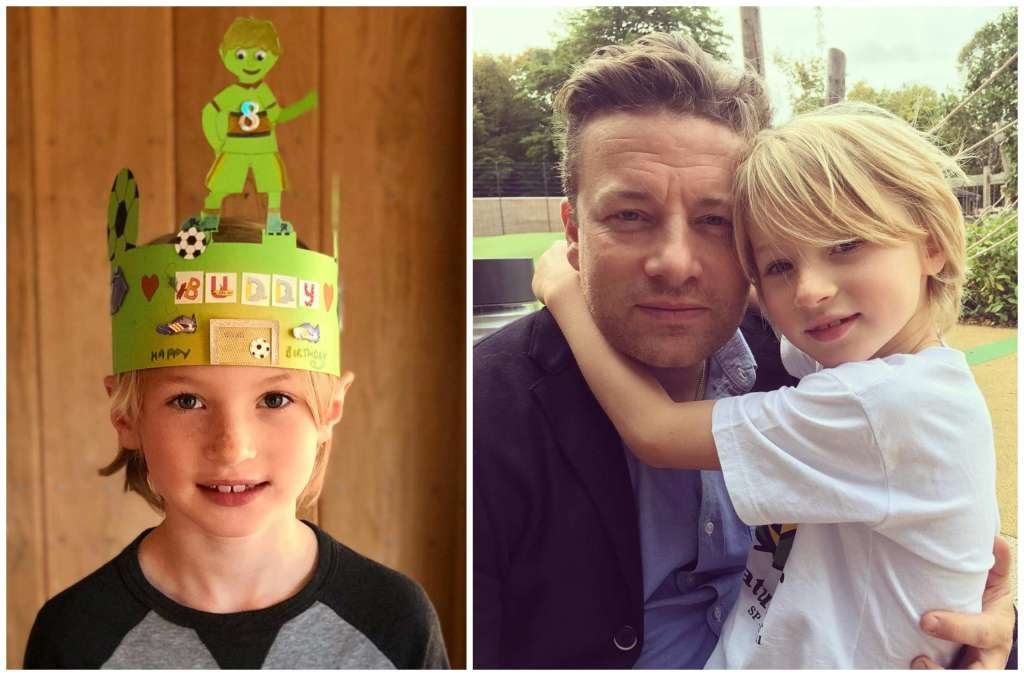 Jamie Oliver's children - son Buddy Bear Maurice Oliver