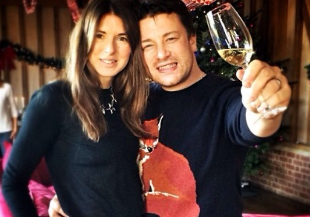 Jamie Oliver's family - wife Juliette Norton