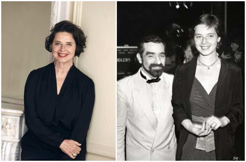 Martin Scorsese's family - ex-wife Isabella Rossellini