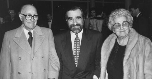 Martin Scorsese's family - father Charles Scorsese