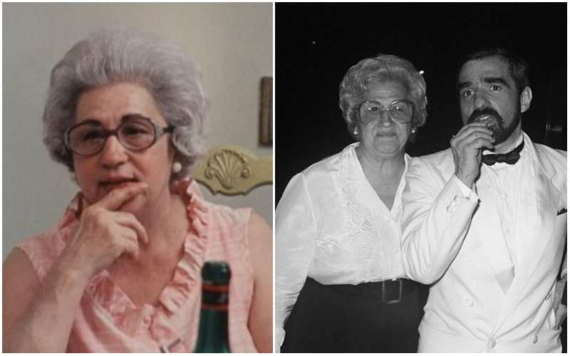 Martin Scorsese's family - mother Catherine Scorsese