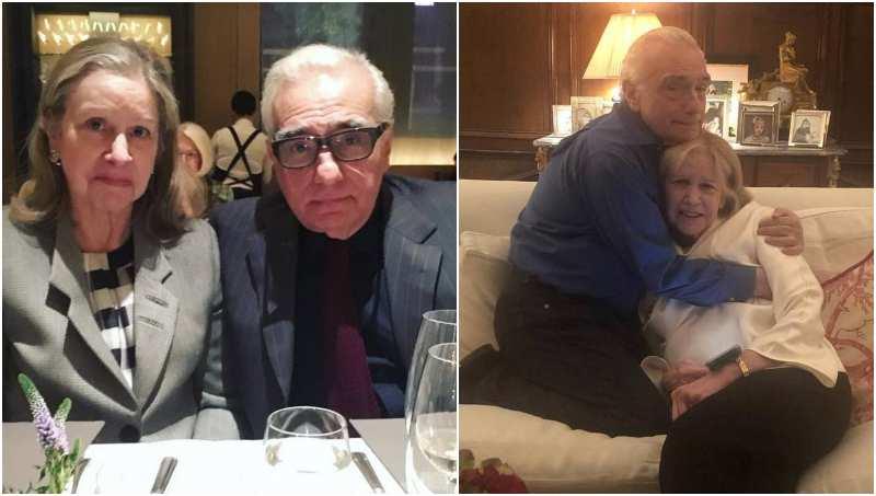 Martin Scorsese's family - wife Helen Schermerhorn Morris