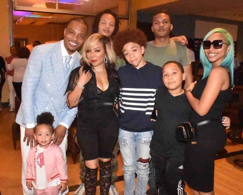 Famous People Who Have 6 Children - T.I. (TIP) Harris