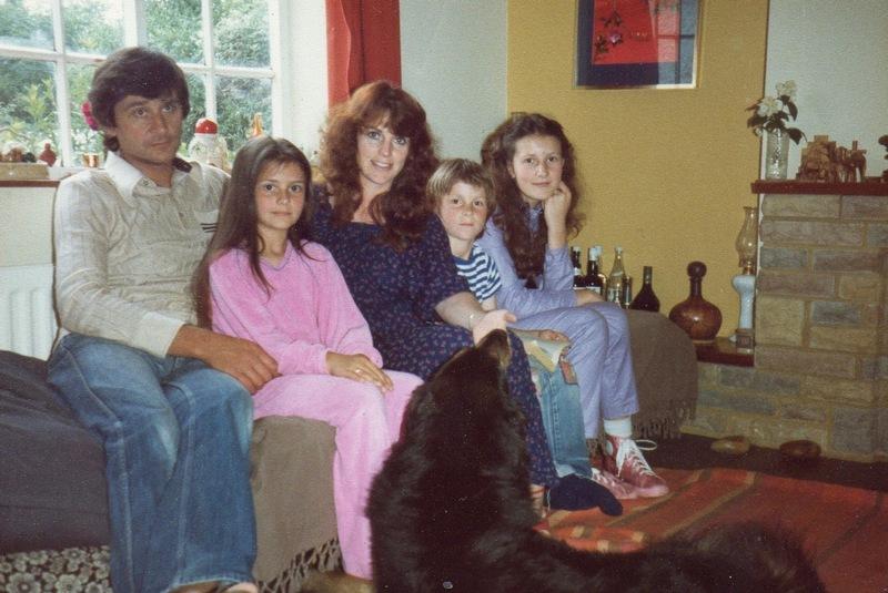 Christian Bale's family