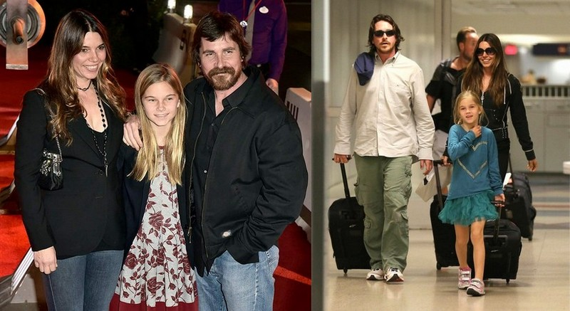 Christian Bale's children - daughter Emmaline Bale