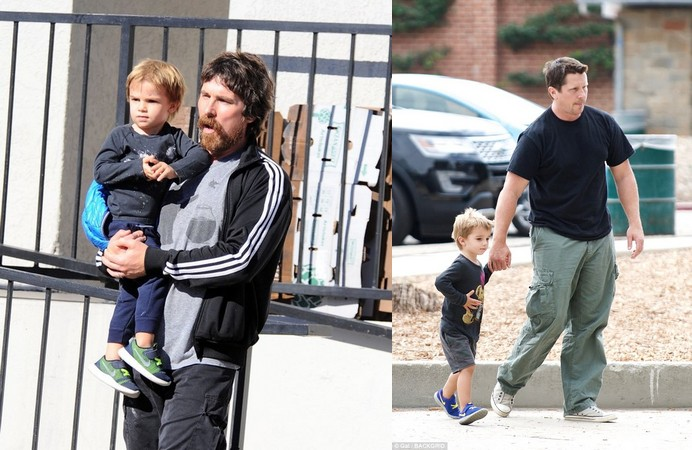 Christian Bale's children - son Joseph Bale
