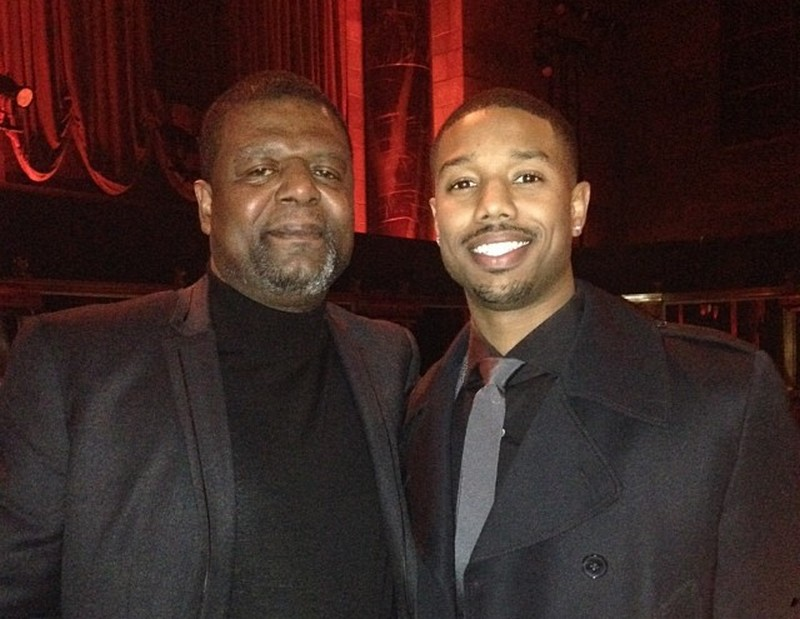 Michael B. Jordan's family - father Michael A. Jordan