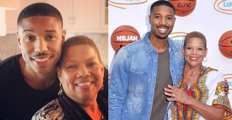 Michael B. Jordan's family - mother Donna Jordan