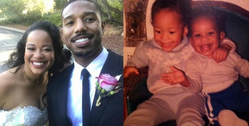 Michael B. Jordan's siblings - sister Jamila Jordan