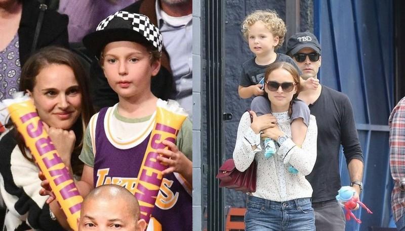 Natalie Portman's children - son Aleph Portman-Millepied