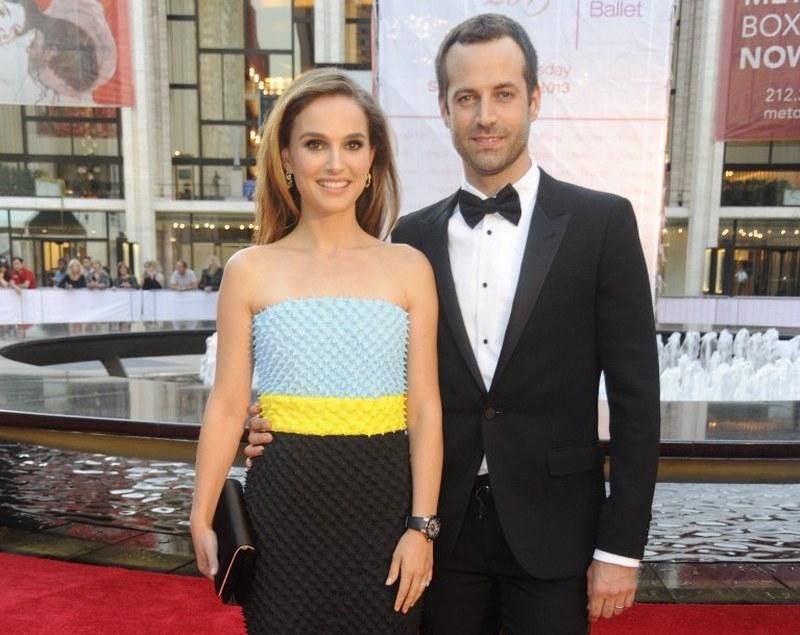 Natalie Portman's family - spouse Benjamin Millepied