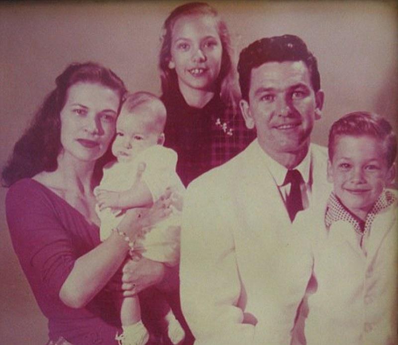 Patrick Swayze's family