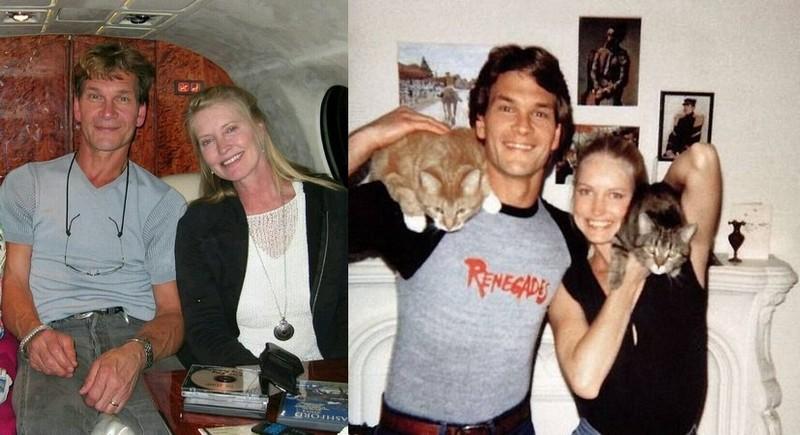 Patrick Swayze's family - wife Lisa NiemiSwayze