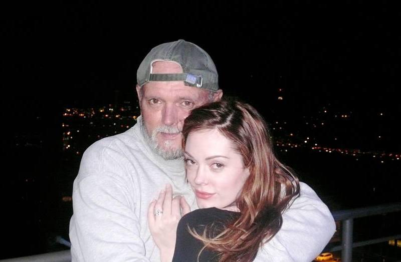 Rose McGowan's family - father Daniel Patrick McGowan