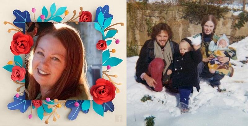 Rose McGowan's family - mother Terri McGowan