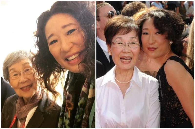Sandra Oh's family - mother Young-nam Oh