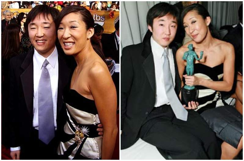 Sandra Oh's siblings - brother Raymond Oh