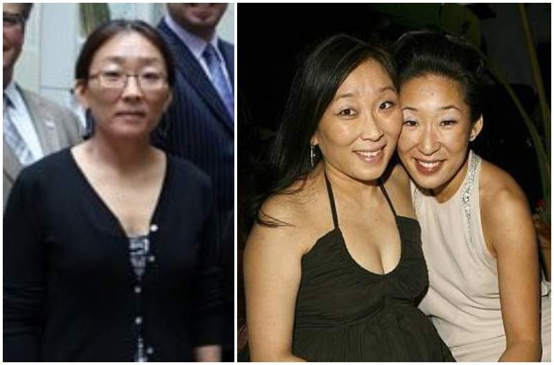 Sandra Oh's siblings - sister Grace Oh