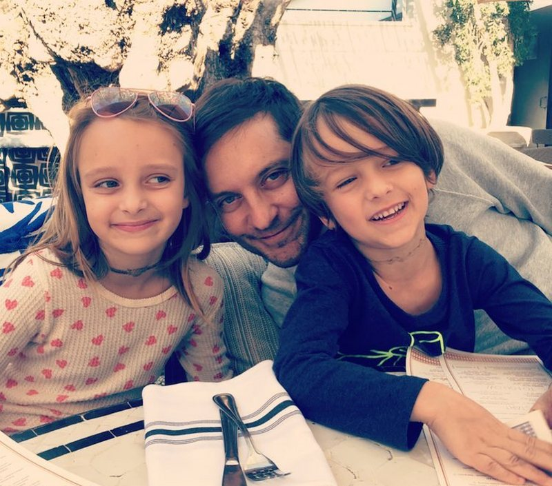 Tobey Maguire's children
