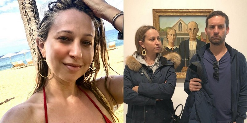 Tobey Maguire's family - ex-wife Jennifer Meyer