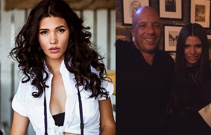 Vin Diesel's family - longtime partner Paloma Jimenez