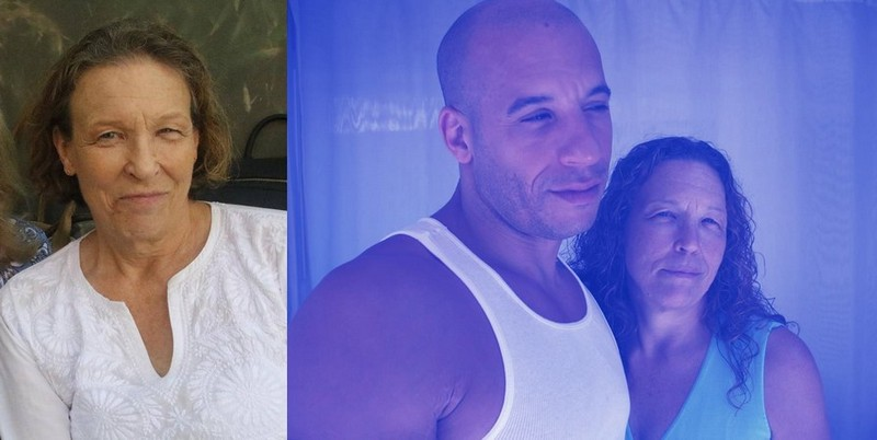 Vin Diesel's family - mother Delora Sherleen Sinclair