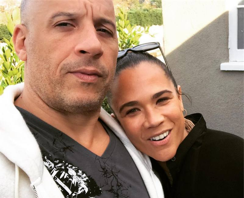 Vin Diesel's siblings - maternal half-sister Samantha Vincent