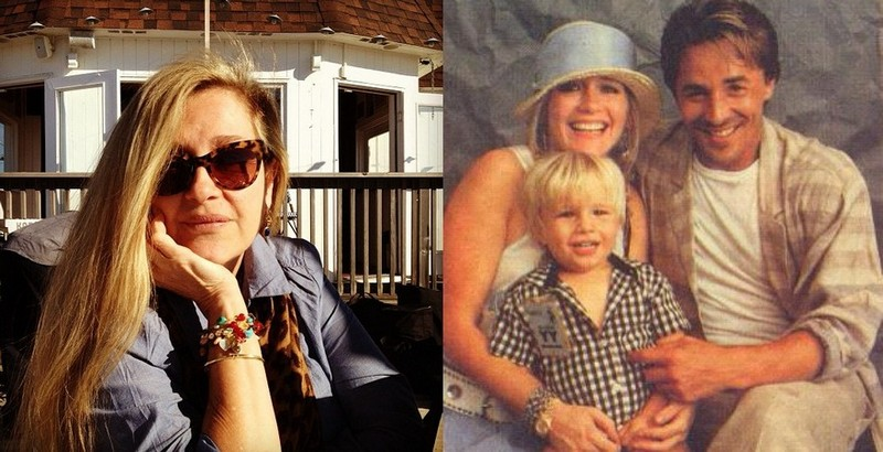 Don Johnson's family - ex-partner Patti D'Arbanville