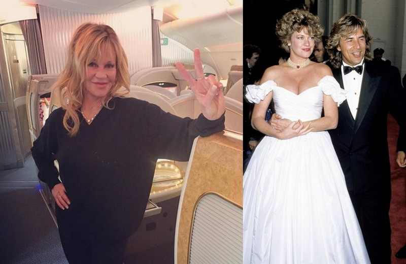 Don Johnson's family - ex-wife Melanie Griffith