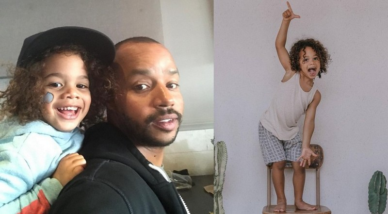 Donald Faison's children - son Rocco Faison