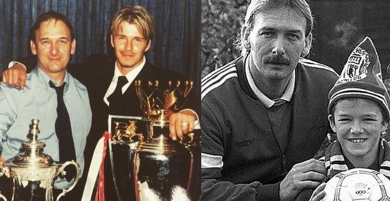 David Beckham's family - father David Edward Alan Beckham