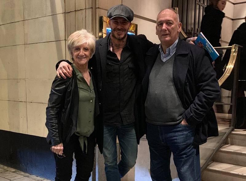 David Beckham's family - parents