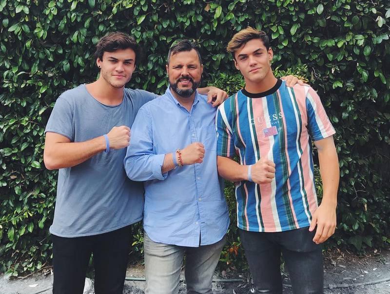 Grayson Dolan's family - father Sean Dolan