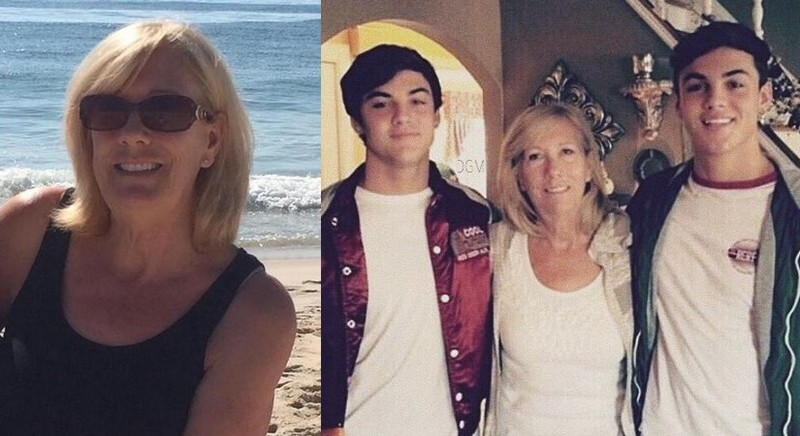 Grayson Dolan's family - maternal grandmother Adrianne Dibello